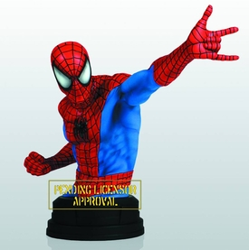 Marvel Gentle Giant Mini-Bust Spider-Man Pre-Order ships August