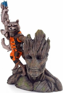 Marvel Guardians of the Galaxy Kotobukiya Statue Rocket Raccoon & Groot Pre-Order ships September