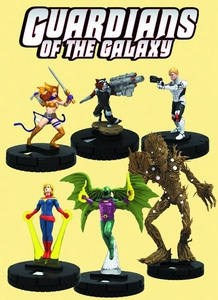 Marvel Heroclix Guardians of The Galaxy Starter Set Pre-Order ships July