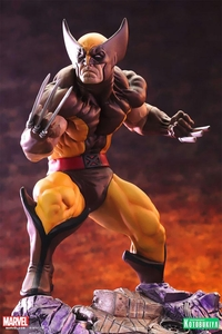 Marvel Kotobukiya 1/6 Scale Fine Art Statue Wolverine [Brown Costume] Pre-Order ships January