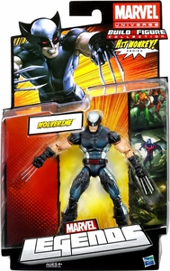 Marvel Legends 2013 Series 1 Action Figure X-Force Wolverine [Build Hit Monkey Piece!]