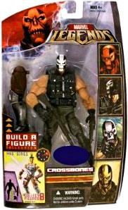 Marvel Legends Exclusive Ares Build-A-Figure Wave Action Figure Crossbones
