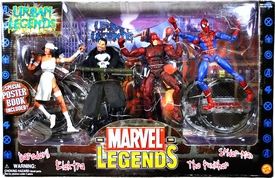 Marvel Legends Urban Legends Action Figure Boxed Set