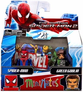 Marvel Minimates Amazing Spider-Man 2 Movie Series 56 Mini Figure 2-Pack Spider-Man & Green Goblin