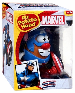 Marvel Mr. Potato Head Figure Captain America New!