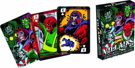 Marvel Playing Cards Villains Pre-Order ships April