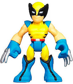 Marvel Playskool Super Hero Adventures Mini Figure Wolverine [Bagged]
