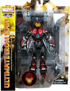 Marvel Select Action Figure ULTIMATE Iron Man New!