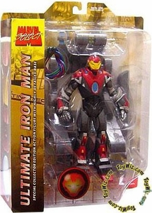 Marvel Select Action Figure ULTIMATE Iron Man Pre-Order ships July