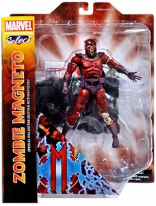 Marvel Select Action Figure Zombie Magneto New Hot!