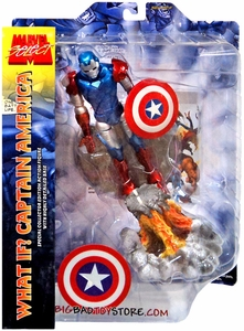 Marvel Select Exclusive Action Figure What If? Iron Captain America