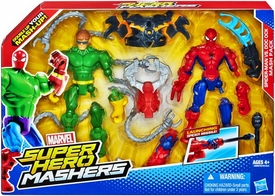 Marvel Super Hero Mashers Action Figure 2-Pack Spider-Man Vs. Doc Ock New!