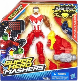Marvel Super Hero Mashers Battle Upgrade Action Figure Falcon
