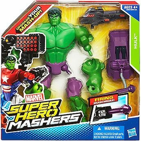 Marvel Super Hero Mashers Battle Upgrade Action Figure Hulk