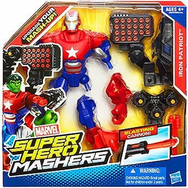 Marvel Super Hero Mashers Battle Upgrade Action Figure Iron Patriot