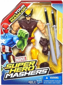 Marvel Super Hero Mashers Action Figure Wolverine [Brown Costume] Pre-Order ships August