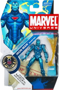 Marvel Universe 3 3/4 Inch Series 1 Action Figure #9 Iron Man [Stealth Armor]