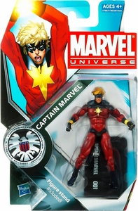 Marvel Universe 3 3/4 Inch Series 12 Action Figure #1 Captain Marvel