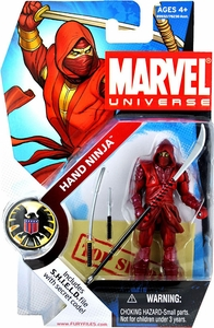 Marvel Universe 3 3/4 Inch Series 3 Action Figure #24 Hand Ninja [Red]