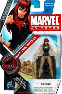 Marvel Universe 3 3/4 Inch Series 9 Action Figure #23 Mary Jane Watson