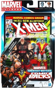Marvel Universe Greatest Battles Action Figure 2-Pack Colossus Vs. Juggernaut