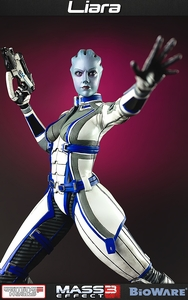 Mass Effect 3 Gaming Heads Limited Edition 19 Inch Statue Liara T'Soni Pre-Order ships March