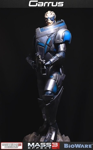 Mass Effect 3 Gaming Heads Limited Edition 21 Inch Statue Garrus Pre-Order ships January