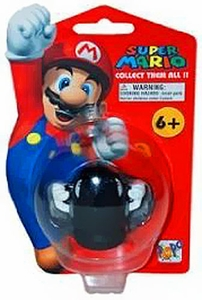 Master Replicas Super Mario Brothers Series 2 Vinyl Mini Figure  Bullet Bill
