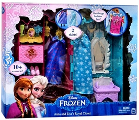 MATTEL Disney Frozen Playset Anna & Elsa's Royal Closet