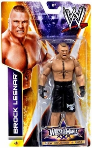 Mattel WWE Wrestling Wrestlemania 30 Basic Action Figure Brock Lesnar New!
