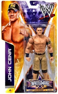 Mattel WWE Wrestling Wrestlemania 30 Basic Action Figure John Cena New!