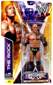 Mattel WWE Wrestling Wrestlemania 30 Basic Action Figure The Rock New!