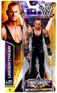 Mattel WWE Wrestling Wrestlemania 30 Basic Action Figure Undertaker New!