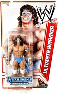 Mattel WWE Wrestling Basic Series 16 Action Figure #19 Ultimate Warrior [Wrestlemania 4] Hot!