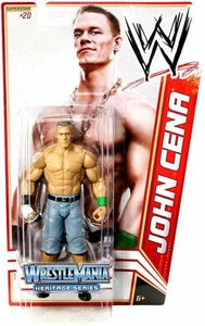Mattel WWE Wrestling Basic Series 16 Action Figure #20 John Cena [Wrestlemania 20] BLOWOUT SALE!