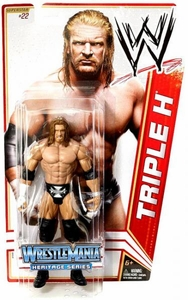 Mattel WWE Wrestling Basic Series 16 Action Figure #22 Triple H [Wrestlemania 21] BLOWOUT SALE!