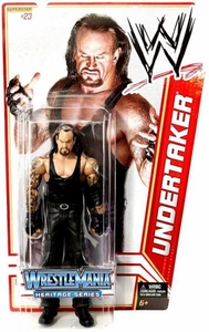 Mattel WWE Wrestling Basic Series 16 Action Figure #23 Undertaker [Wrestlemania 21] BLOWOUT SALE!