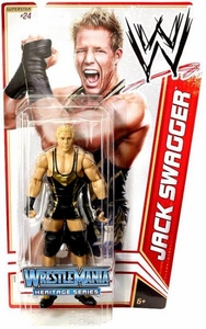 Mattel WWE Wrestling Basic Series 16 Action Figure #24 Jack Swagger [Wrestlemania 27] BLOWOUT SALE!