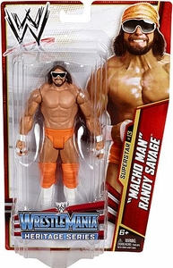 Mattel WWE Wrestling Basic Series 26 Action Figure #13 Macho Man Randy Savage [WrestleMania 5]
