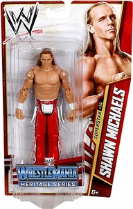Mattel WWE Wrestling Basic Series 26 Action Figure #14 Shawn Michaels [WrestleMania 23]