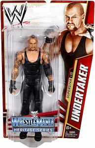 Mattel WWE Wrestling Basic Series 26 Action Figure #15 Undertaker [WrestleMania 28]
