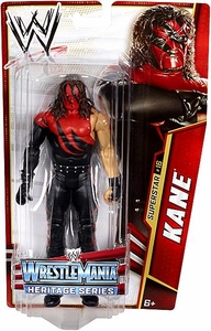 Mattel WWE Wrestling Basic Series 26 Action Figure #16 Kane [WrestleMania 16]