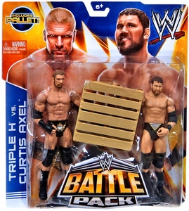 Mattel WWE Wrestling Basic Series 26 Action Figure 2-Pack Curtis Axel & Triple H [Includes Pallet!] BLOWOUT SALE!