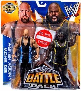 Mattel WWE Wrestling Basic Series 27 Action Figure 2-Pack Big Show & Mark Henry New!