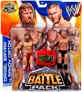 Mattel WWE Wrestling Basic Series 27 Action Figure 2-Pack Daniel Bryan & Randy Orton