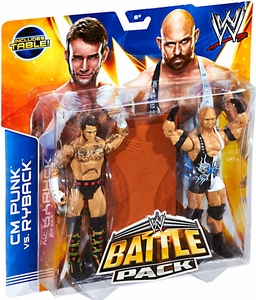Mattel WWE Wrestling Basic Series 29 Action Figure 2-Pack CM Punk & Ryback Pre-Order ships October