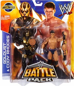 Mattel WWE Wrestling Basic Series 29 Action Figure 2-Pack Cody Rhodes & Goldust New!