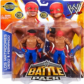 Mattel WWE Wrestling Basic Series 29 Action Figure 2-Pack Los Matadores New!