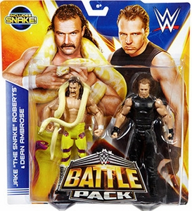 Mattel WWE Wrestling Basic Series 30 Action Figure 2-Pack Jake Roberts & Dean Ambrose Pre-Order ships August