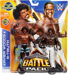 Mattel WWE Wrestling Basic Series 30 Action Figure 2-Pack Xavier Woods & R-Truth Pre-Order ships August